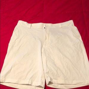 Under Armour Golf Shorts, WHITE, 38R